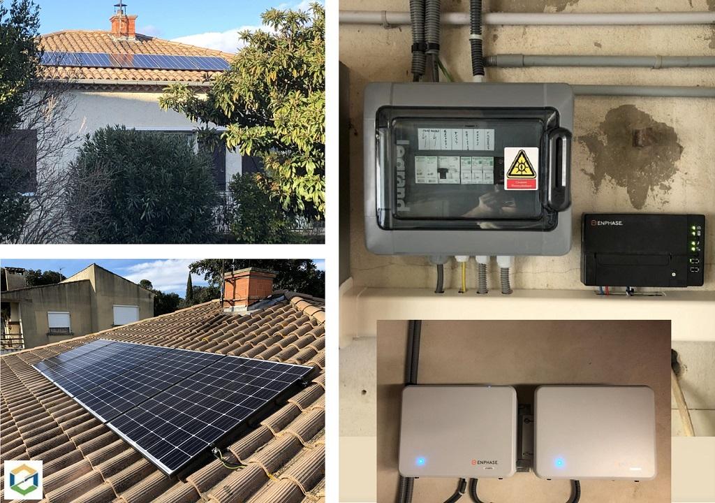Photovoltaique en autoconsommation  avec batteries sans revente de surplus