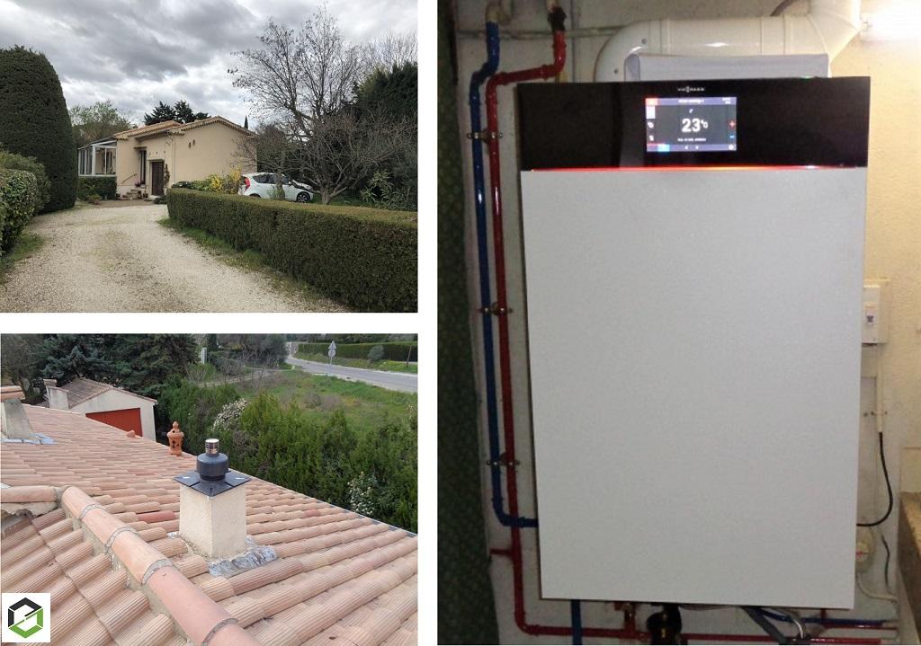 Installateur RGE Proactif Viessmann et  Maître Artisan en remplacement de chaudière gaz