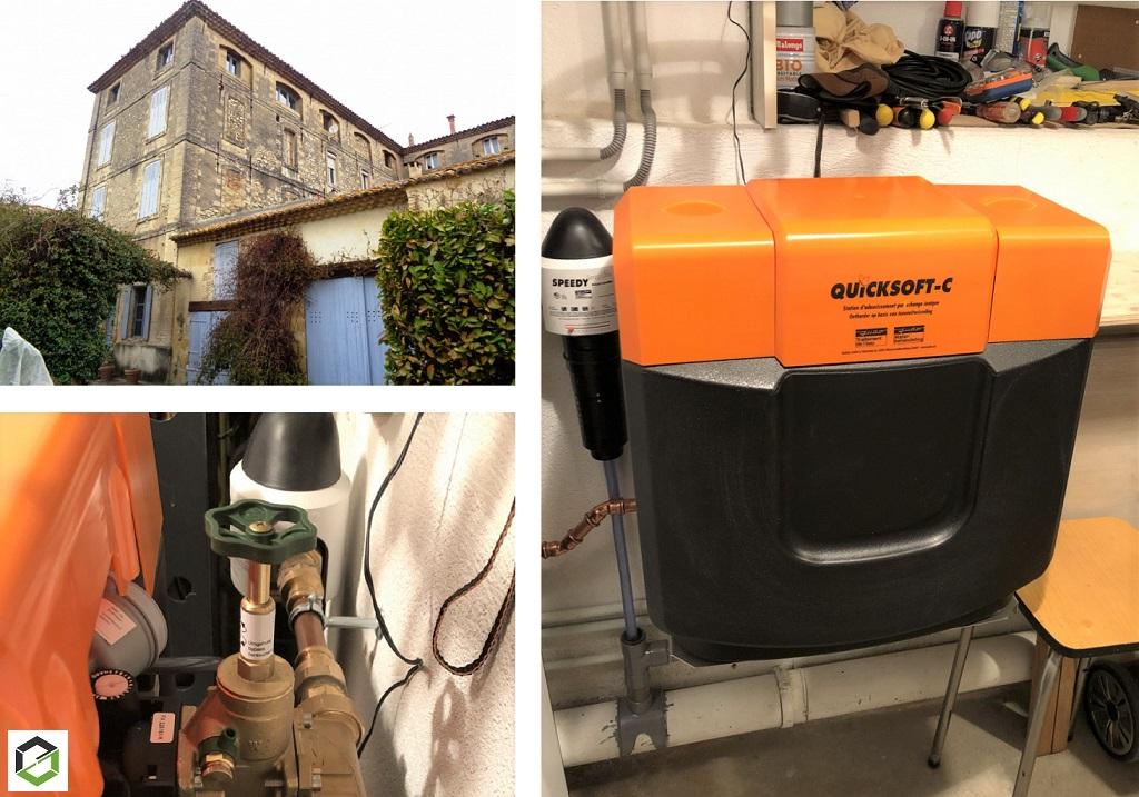 Installateur d'adoucisseur d'eau pour le Gard 30 et 84 Vaucluse