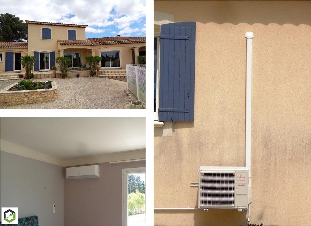 Maître artisan climaticien - installation climatisation réversible performante