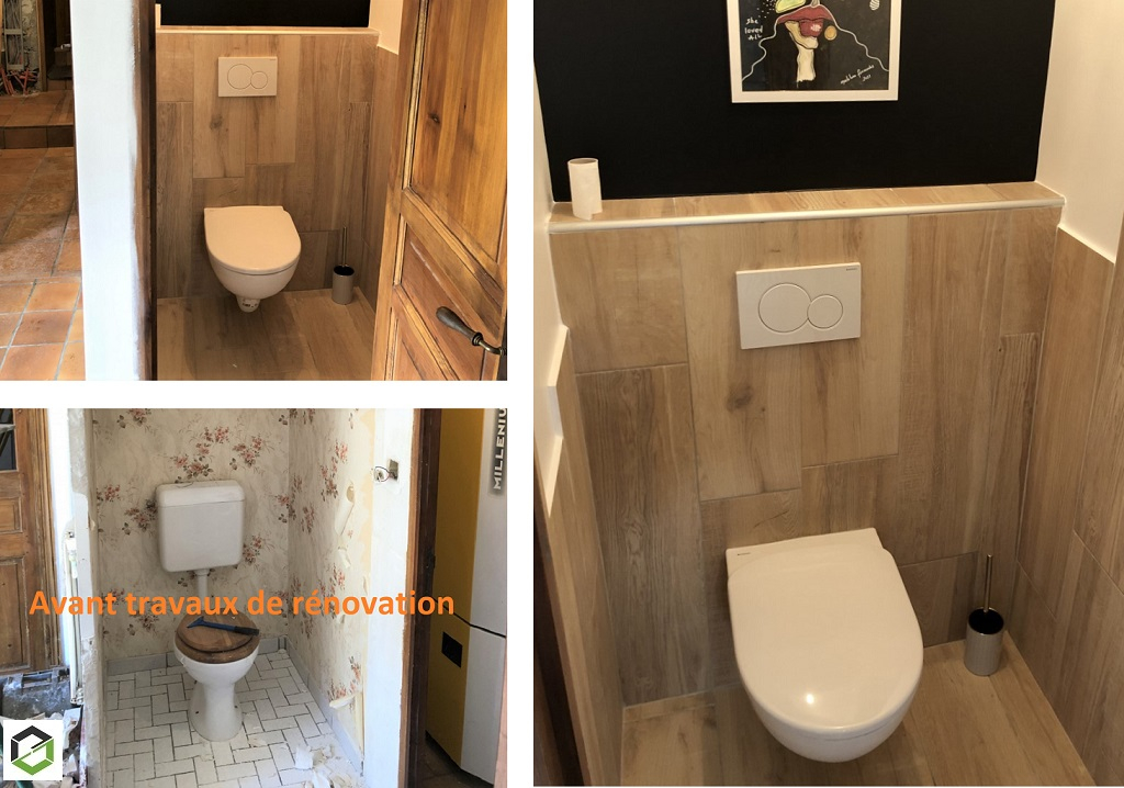 Entreprise de plomberie - Rénovation de toilettes
