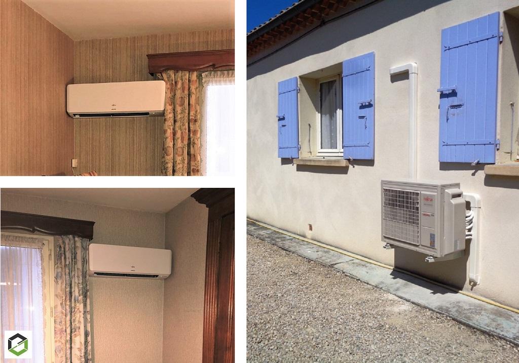 Climaticien RGE Qualipac - Climatisation réversible d'une villa