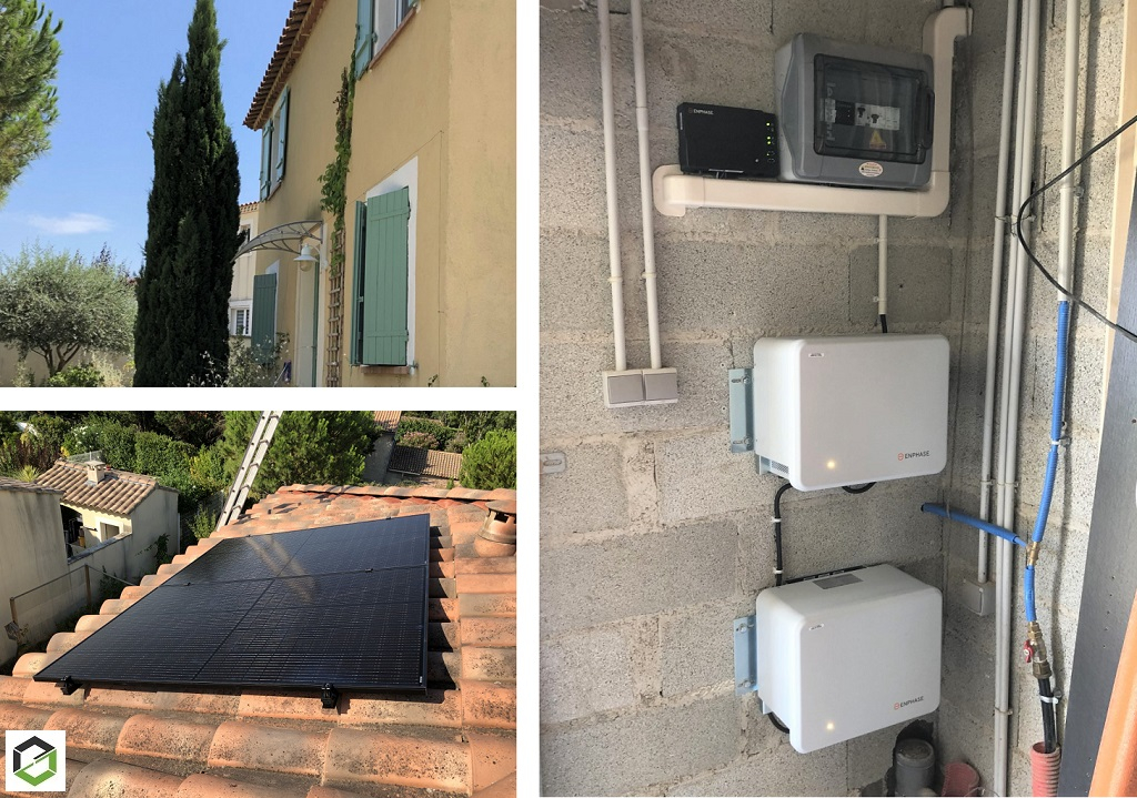 Installateur de photovoltaique en autoconsommation avec stockage  du surplus