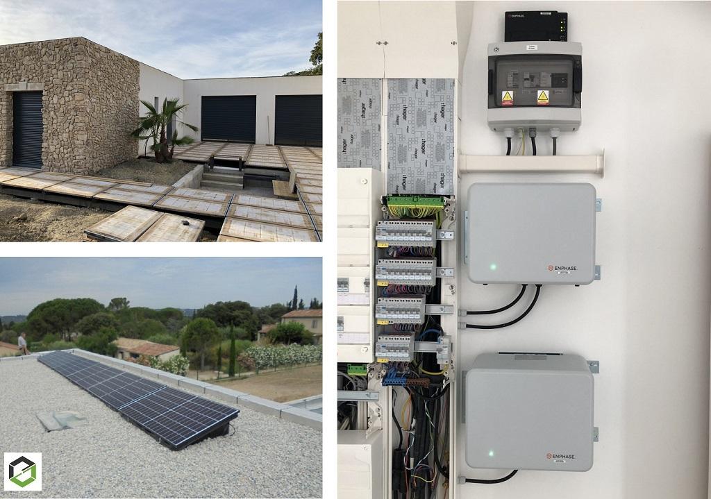 installateur en photovoltaique en autoconsommation avec stockage du surplus