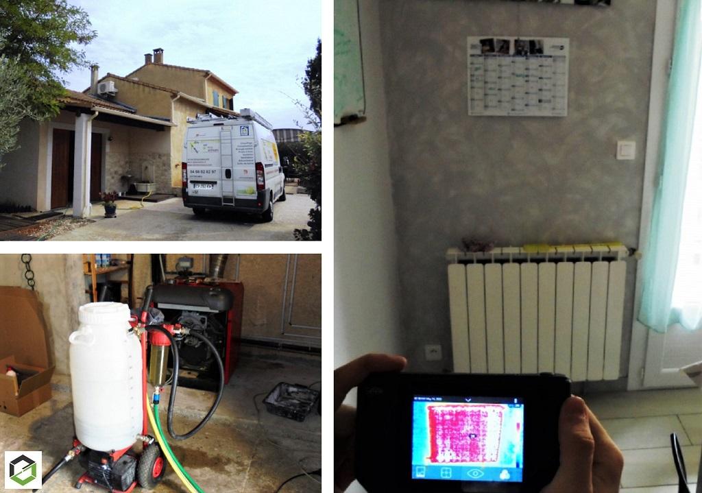 Désembouage circuit de radiateurs