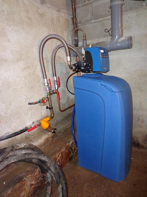 Plombier chauffagiste - Installateur d'adoucisseur d'eau BWT Permo à Roquemaure - 30 Gard et 84 Vaucluse