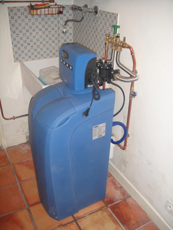 Plombier  Gard 30 et Vaucluse 84 - Vente installation adoucisseur d'eau BWT Permo à Roquemaure