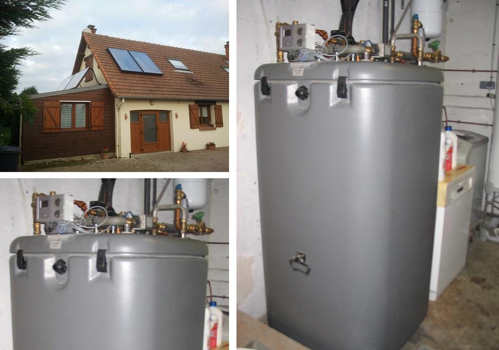 Dépannage, entretien chauffe eau solaire Schuco, installateur chauffe eau solaire, Octeville Sur Mer 76 Seine Maritime