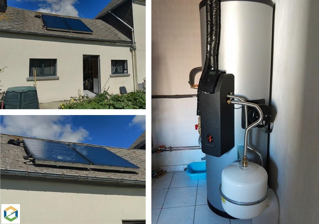 Sté. JB SOLAIRE - installateur de chauffe eau solaire SONNENKRAFT