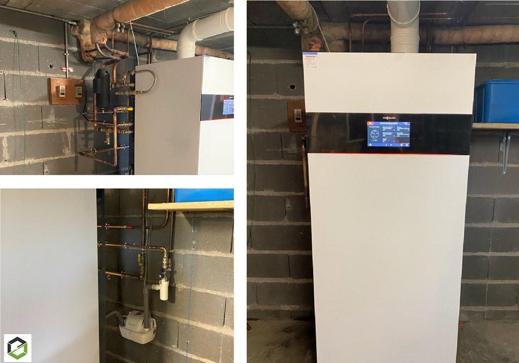 Installateur PROACTIF VIESSMANN : remplacement d'une chaudière gaz