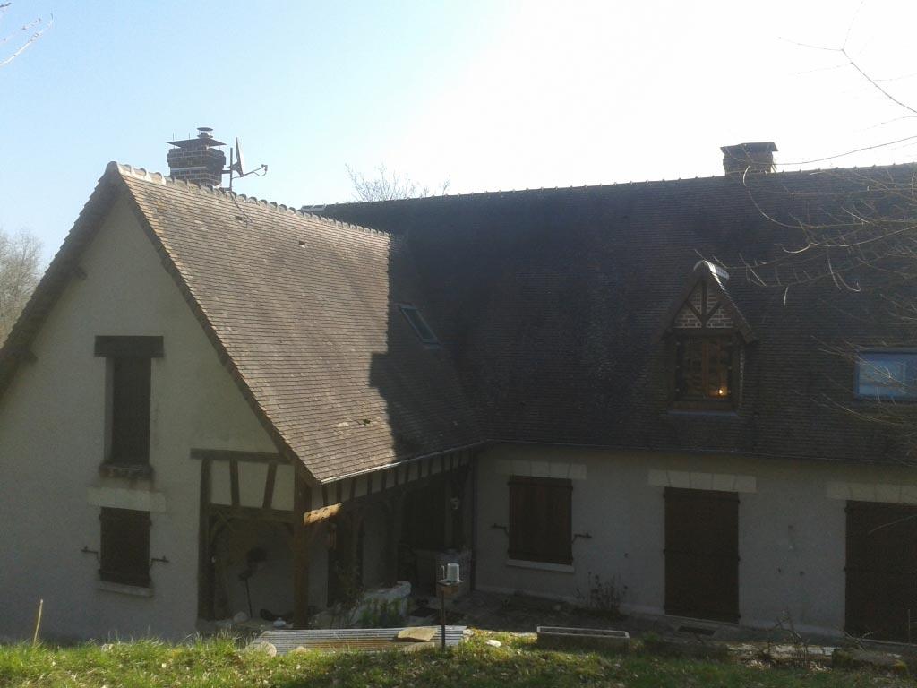Chaudière granulés de bois Okofen à Molineuf - 41 Loir et Cher