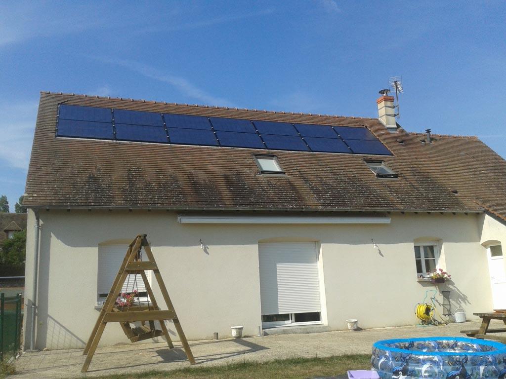 Réparation capteur photovoltaique Sheuten  à Loches  37 indre et loire