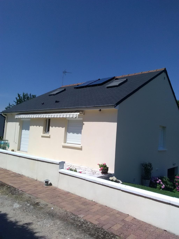 Chauffe eau solaire  37260 Monts 37 Indre et Loire