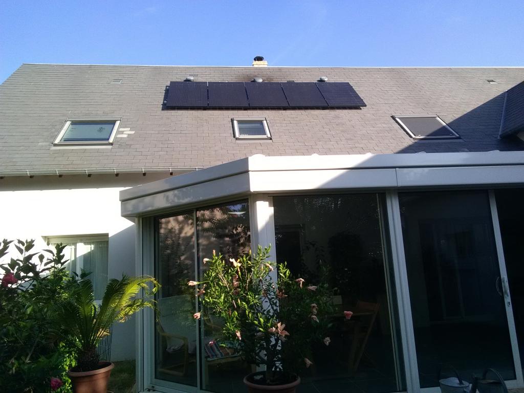 Photovoltaïque auto consommation Solarwatt   comme  appoint à Semblançay  37 indre et loir