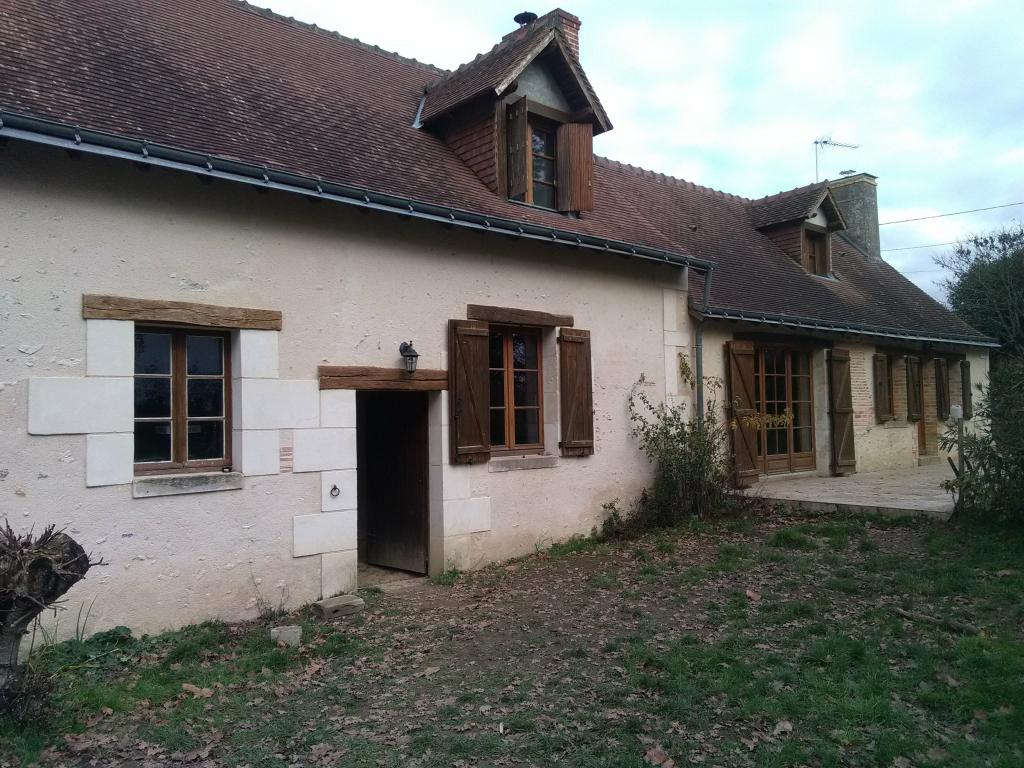 Installation chaudière à granulés de bois pellets Okofen comme chauffage principal à Nouzilly 37380  Indre et Loir-Indre et Loire (37)
