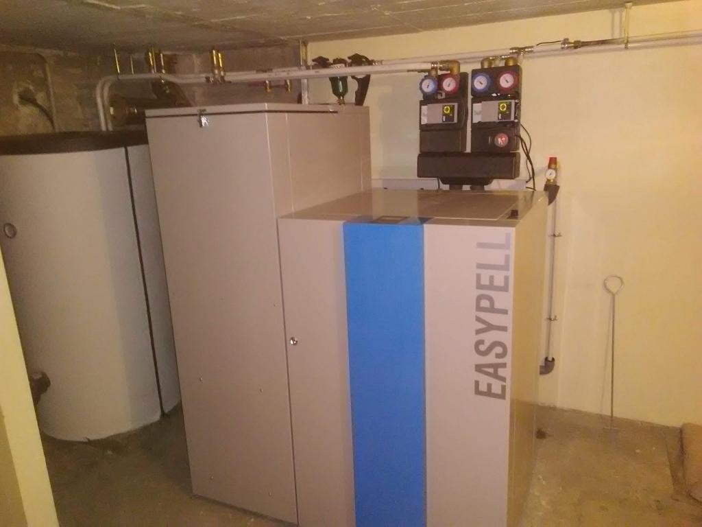 Installation chaudière à granulés de bois pellets Easypell à Fondettes 37230  Indre Et Loire