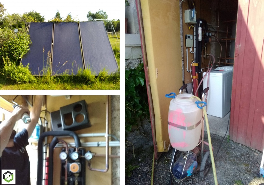 Entretien chauffe eau solaire Thermique