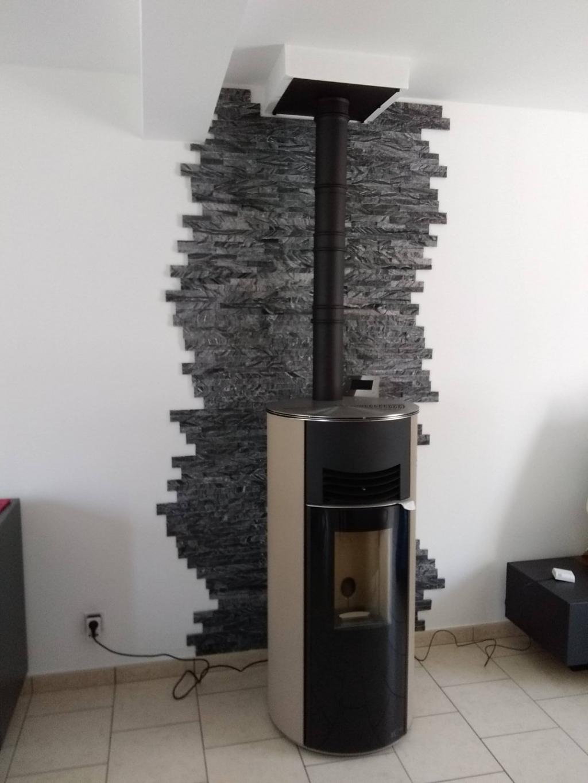 Pose poêle à granulés de bois HOBEN - Entreprise RGE QualiBois-Indre et Loire (37)