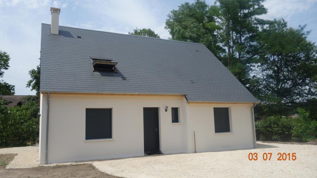 Poêle à granulés de bois (pellet) comme chauffage principal à Civrayde touraine - 37 Indre et Loire