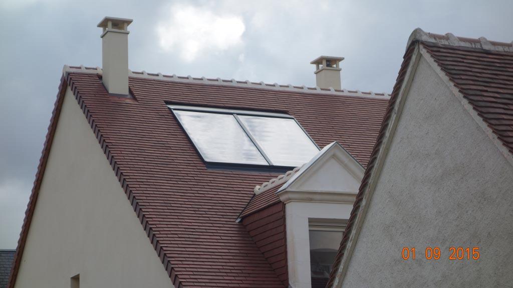 Système solaire combiné Solisart à Joué Les Tours - 37 Indre et Loire