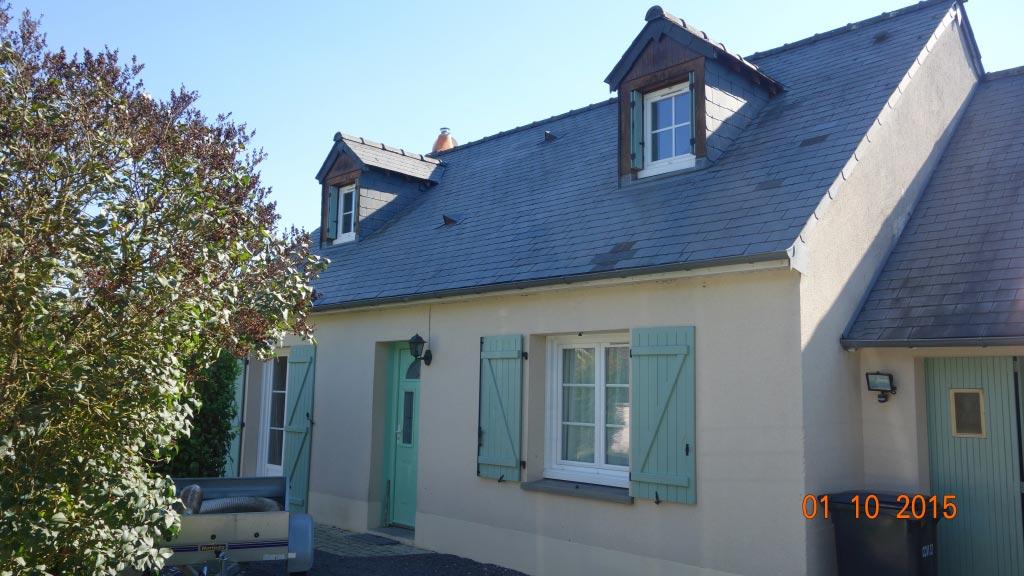 Poêle à granulés de bois (pellets) Palazzetti à Truyes - 37 Indre et Loire