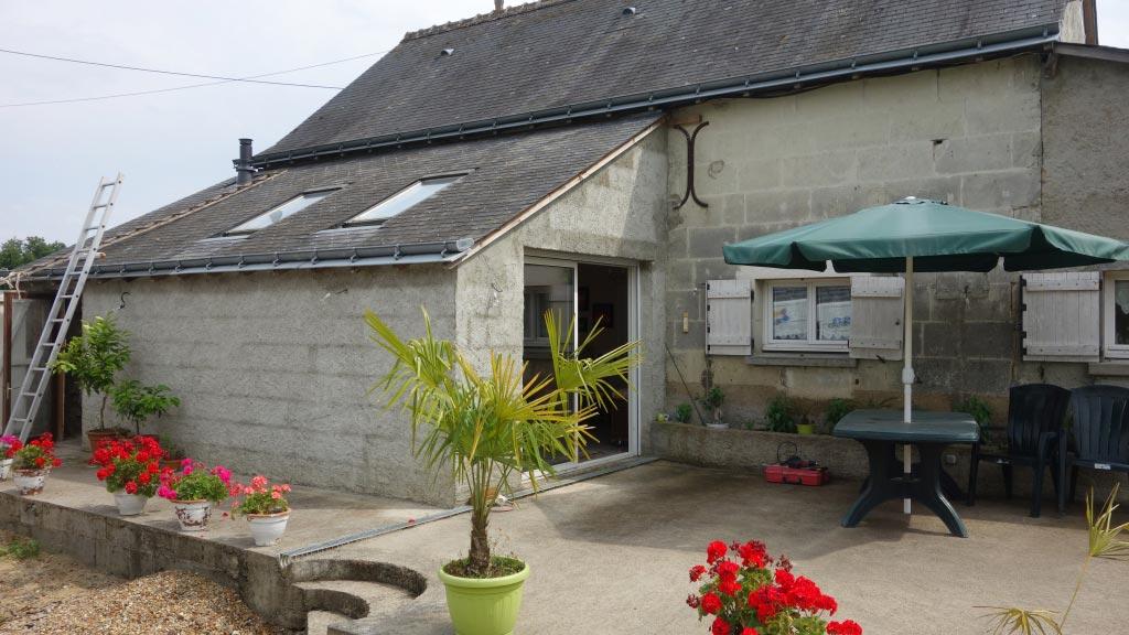 Poêle à granulés de bois (pellets) Palazzetti en Appoint à Saint Christophe sur Le Naie  37 indre et loire