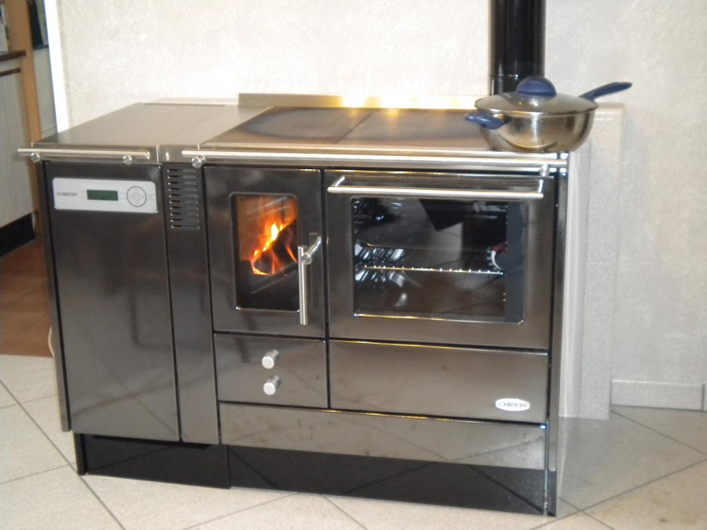 Cuisinière mixte bois-granulés Lohberger à Marsac 23 Creuse-Creuse (23)