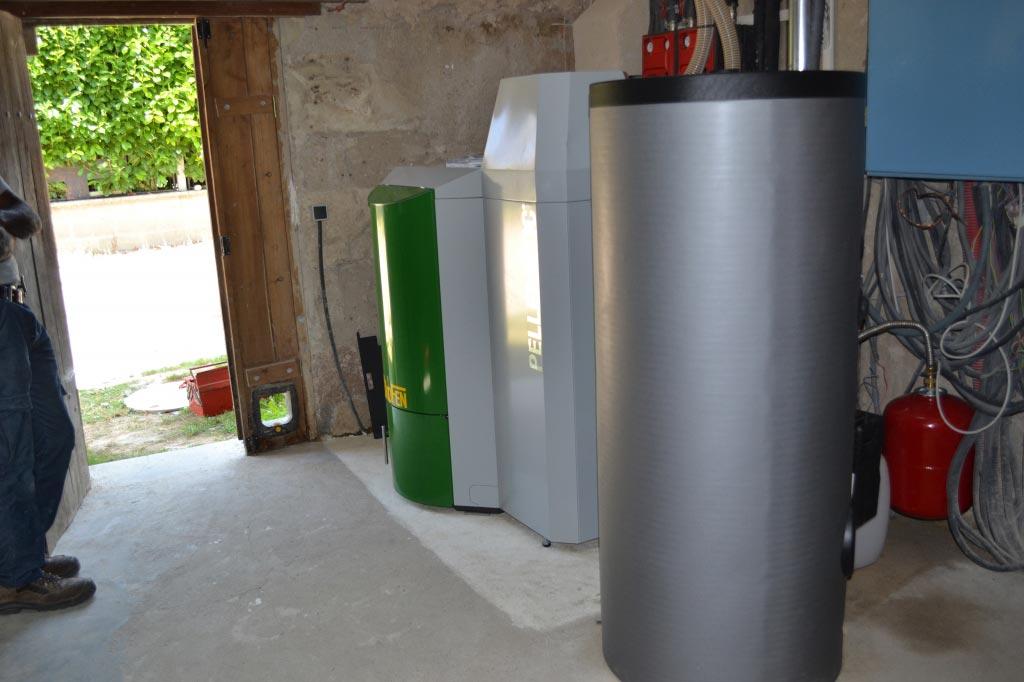 Chauffe eau solaire à Luynes - 37 Indre et Loire