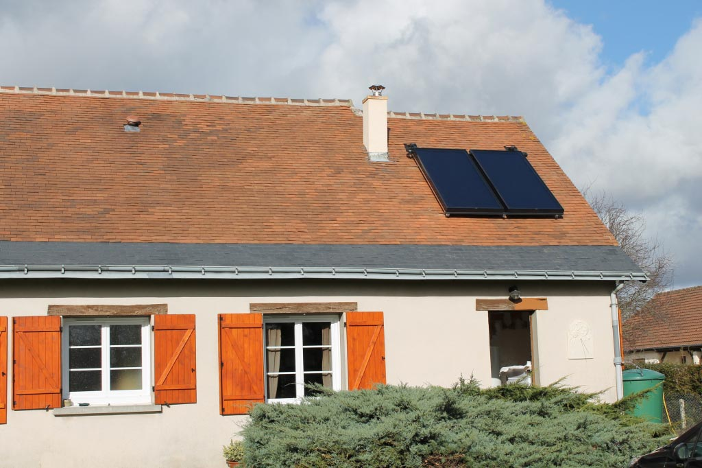 Chauffe eau solaire à Athée sur Cher - 37 Indre et Loire