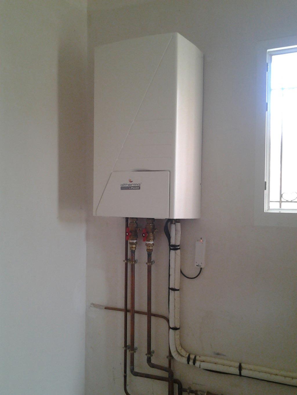 Solaire thermique Westfa & pompe à chaleur DAIKIN à St Chinian - 34 Hérault-Hérault (34)