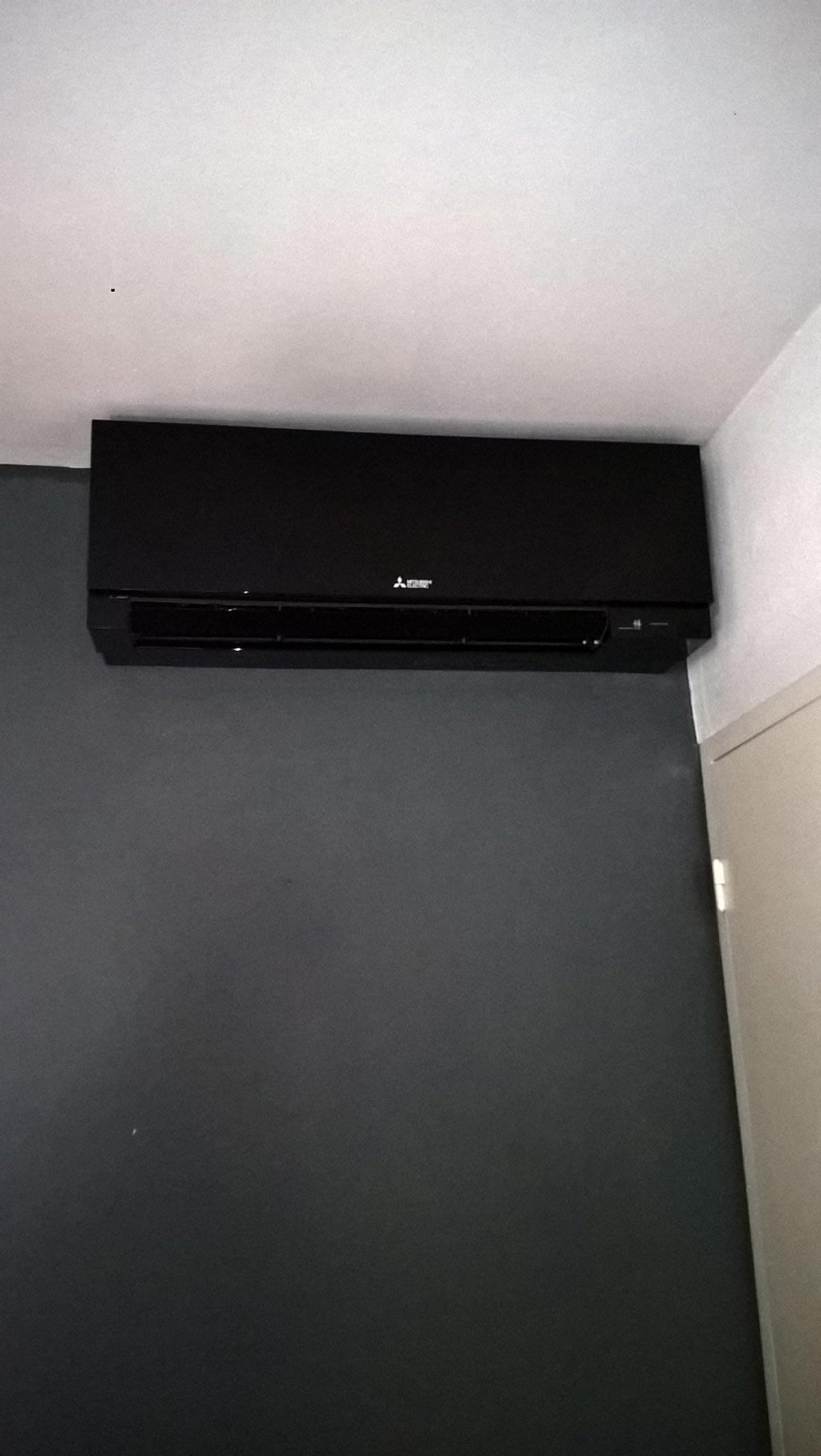 installation climatisation reversible mitsubishi muz ef35ve msz ef35ve3b pardailhan 34. Black Bedroom Furniture Sets. Home Design Ideas