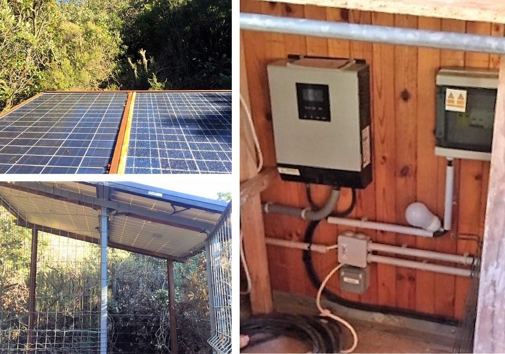 Installation Photovoltaïque en site isolé avec batteries gel-Hérault (34)
