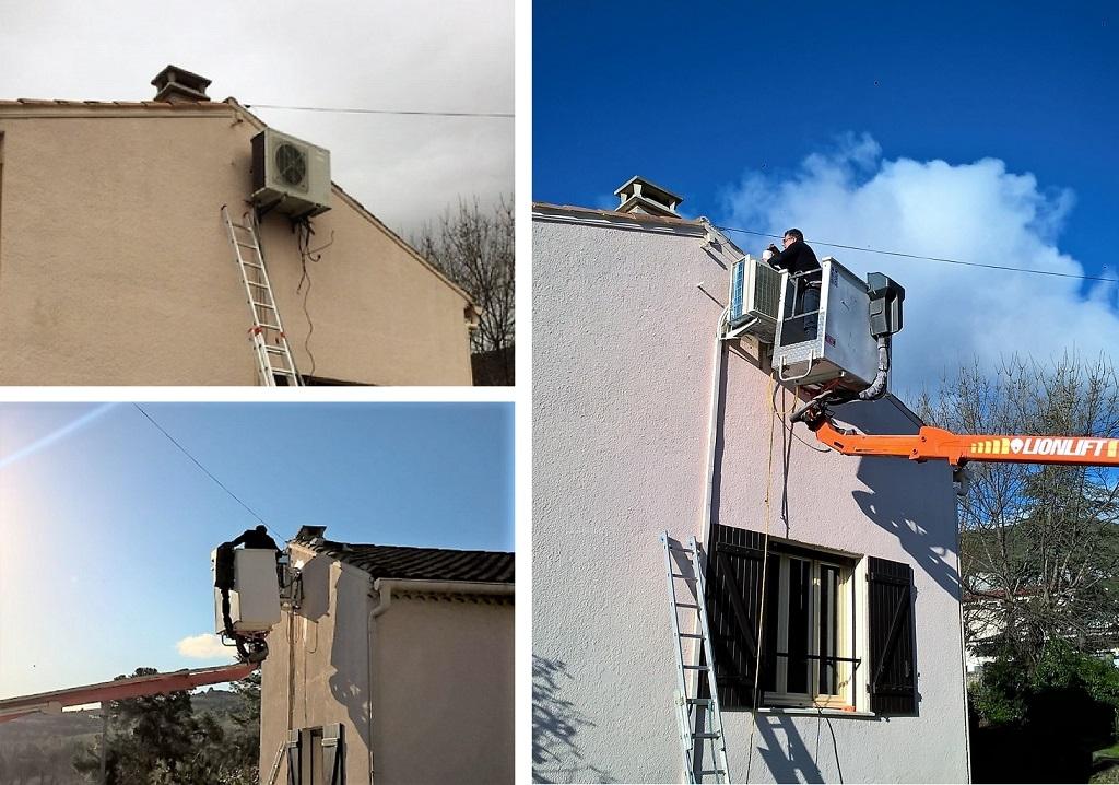 Remplacement d'un ensemble de climatisation DAIKIN-Hérault (34)