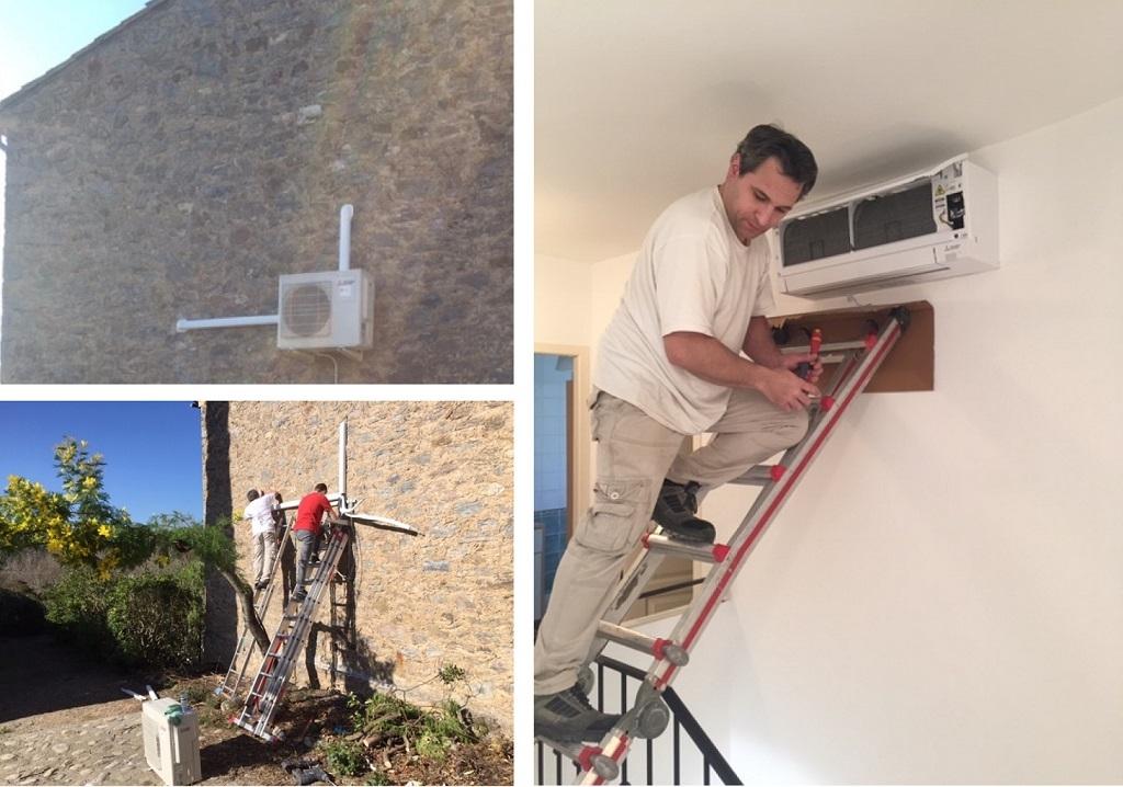 Fourniture pose et mise en service d'une climatisation réversible-Hérault (34)