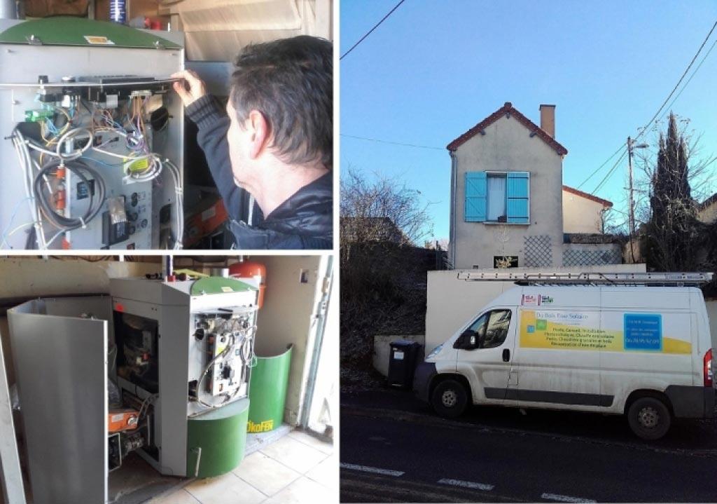 Entretien chaudière à granulés Okofen à Chartres (28) RGE qualibois