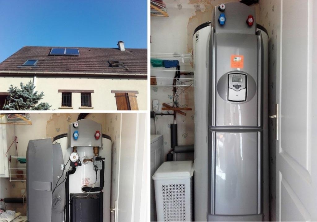 Dépannage d'un chauffe eau solaire De dietrich à mintigny le bretonneux 78 yvelines