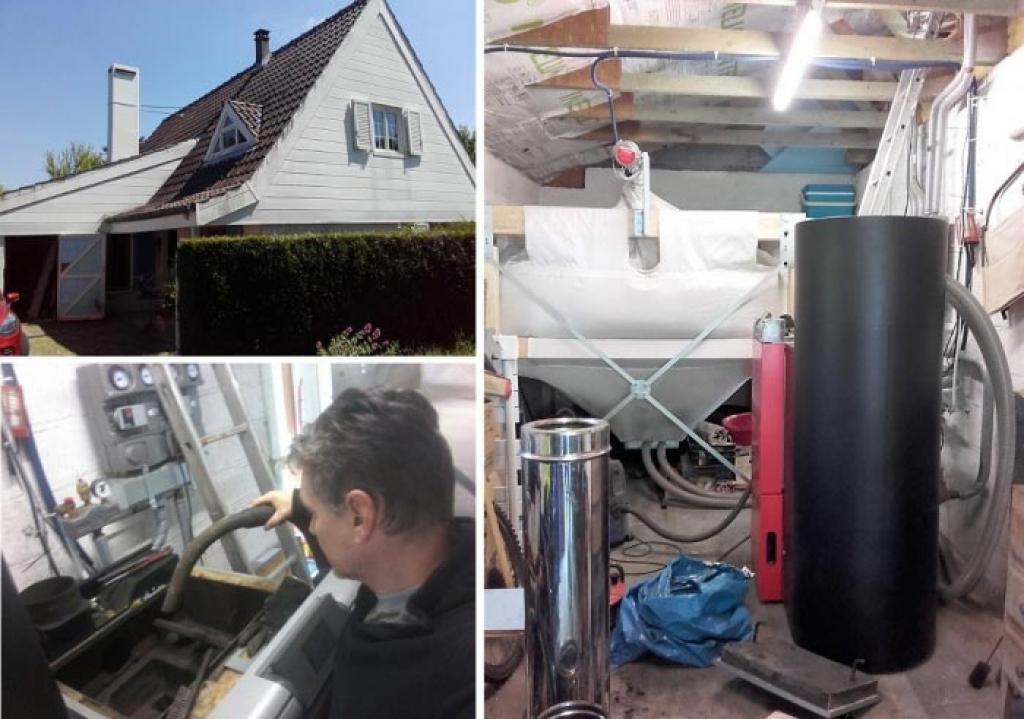 Entretien chaudière à granulés Froling à Auffargis 78 Yvelines. Artisan RGE Qualibois-Yvelines (78)