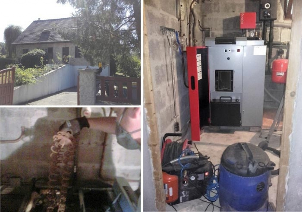 Entretien chaudière à granulés Froling à Jouars-Pontchartrain 78 Yvelines. Artisan RGE Qualibois