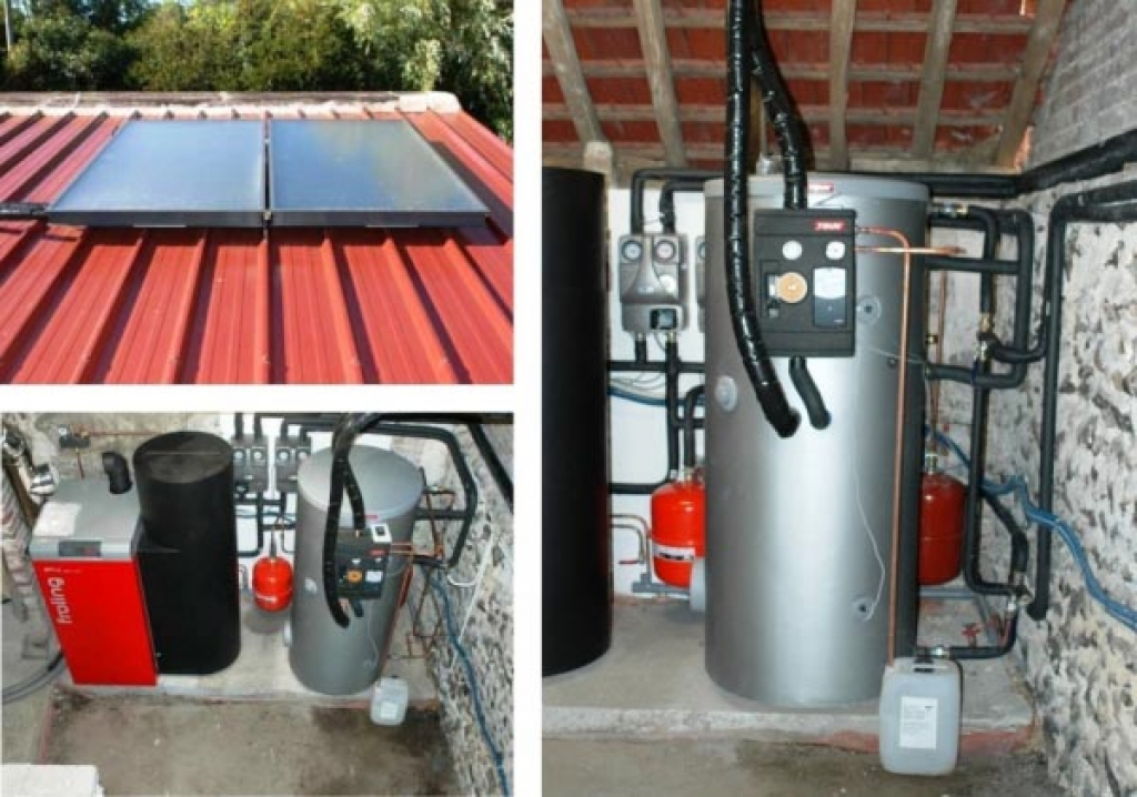 Chauffe eau solaire Tisun à Sorel Moussel - 28 Eure et Loir