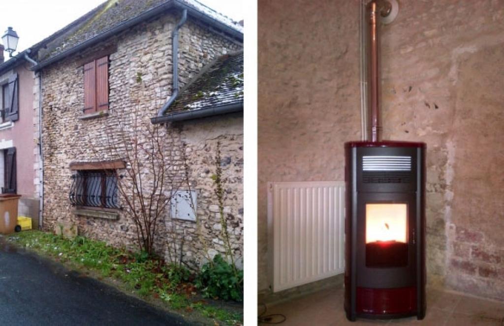 Poêle à granulés MCZ à St Lubin de la Haye - 28 Eure & Loir-Eure et Loir (28)