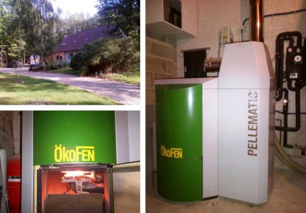 Chaudière bois pellet Okofen à Chaudon - 28 Eure & Loir