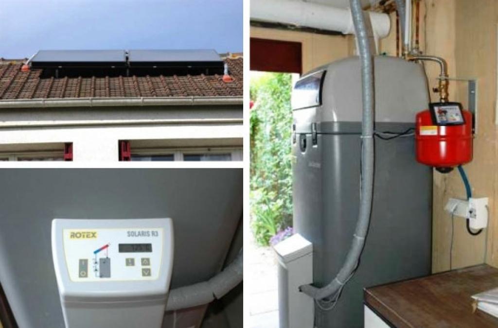 Condensation Gaz et Solaire Rotex à Maurepas - 78 Yvelines-Yvelines (78)
