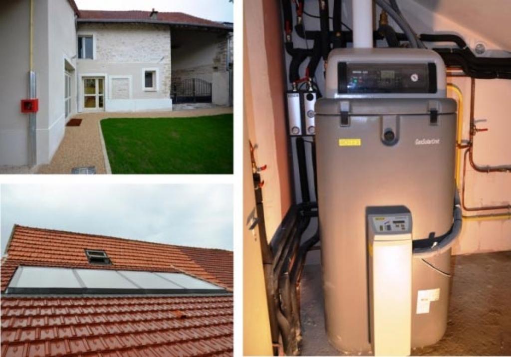 Installations solaires thermiques pour eau chaude sanitaire et appoint chauffage-Eure et Loir (28)