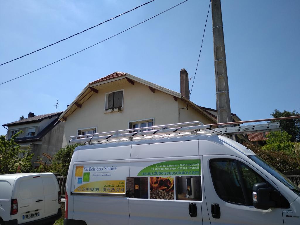 Installation d'une chaudière à granulés à Saint-Rémy-lès-Chevreuse (78)