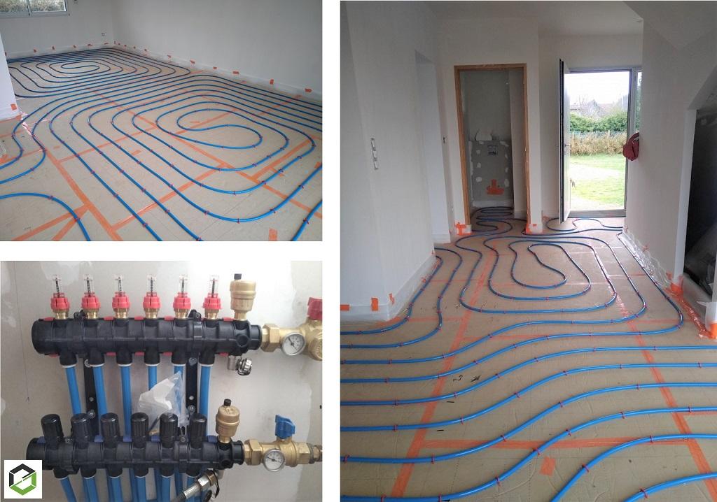 Installation d'un plancher chauffant-Eure et Loir (28)