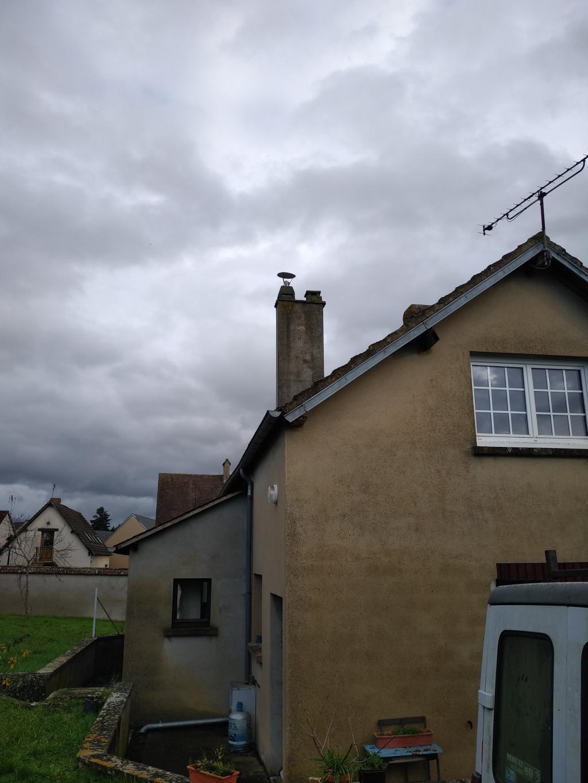 Pose d'un poêle à granulés PALAZETTI à FAVEROLLES - Eure et Loir (28)