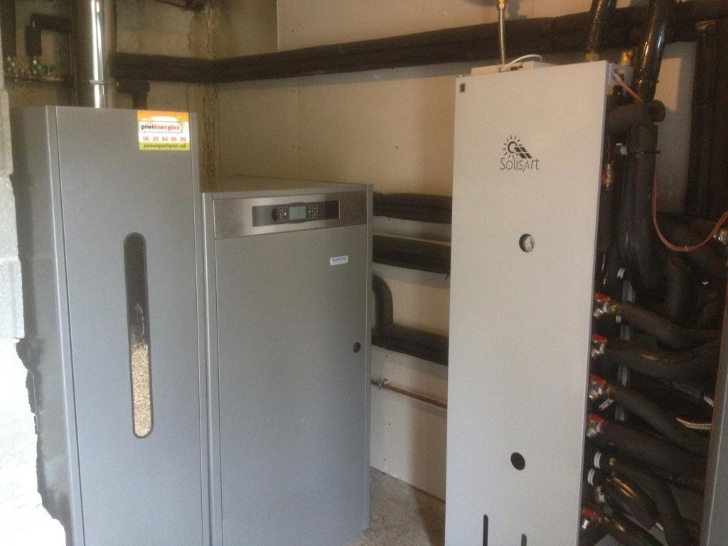 Installateur Piwienergies Quali Sol RGE - Chauffage Solaire Combiné Solisart à Aix les Bains - 73 Savoie