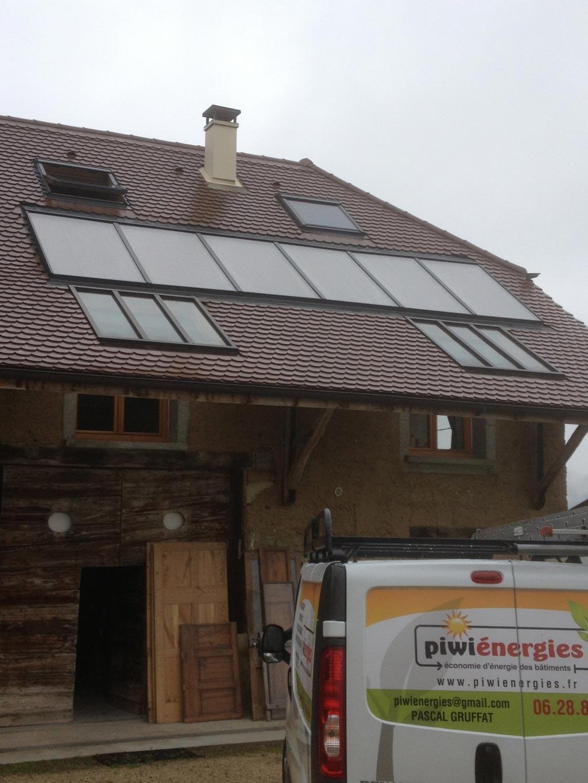 Installateur Piwienergies quali sol RGE - Chauffage Solaire Solisart Miribelle Les Echelles - 38 Isère