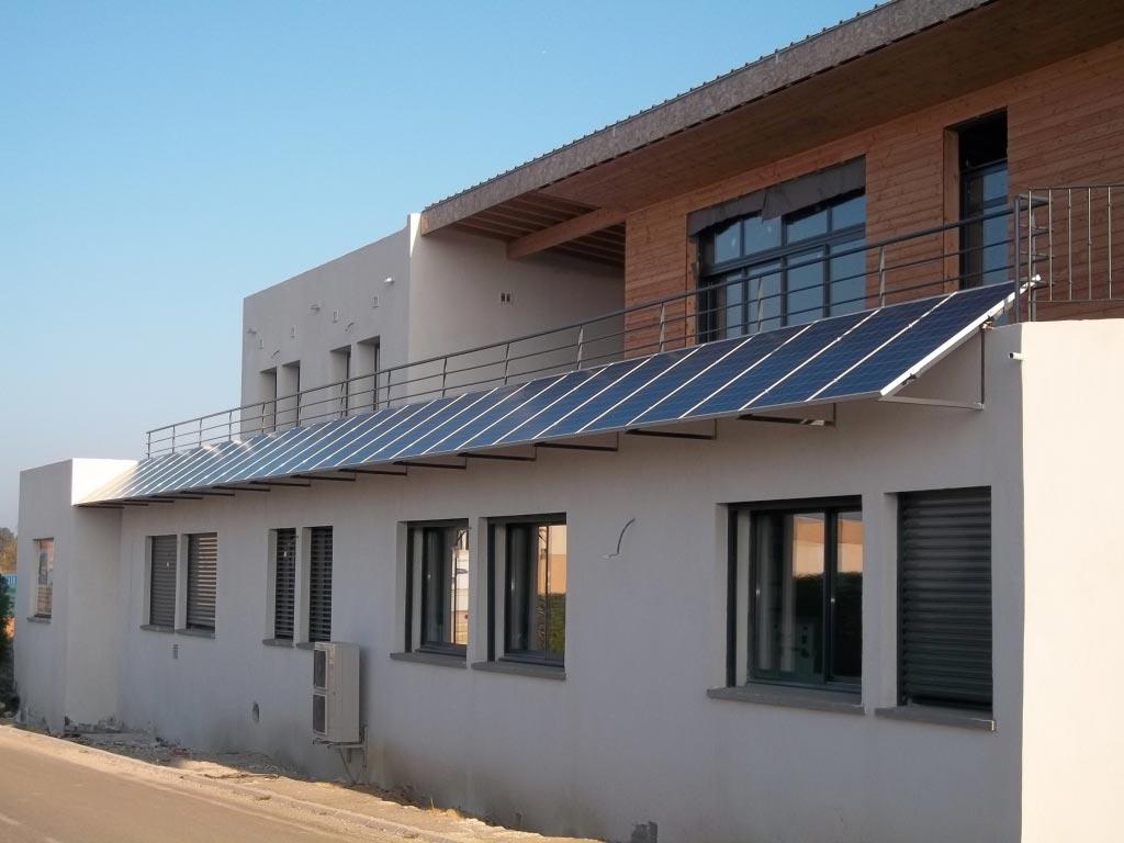 Installation panneaux solaires photovoltaïque intégration au bâti REC micro onduleur ENPHASE -Bouches du Rhône (13)