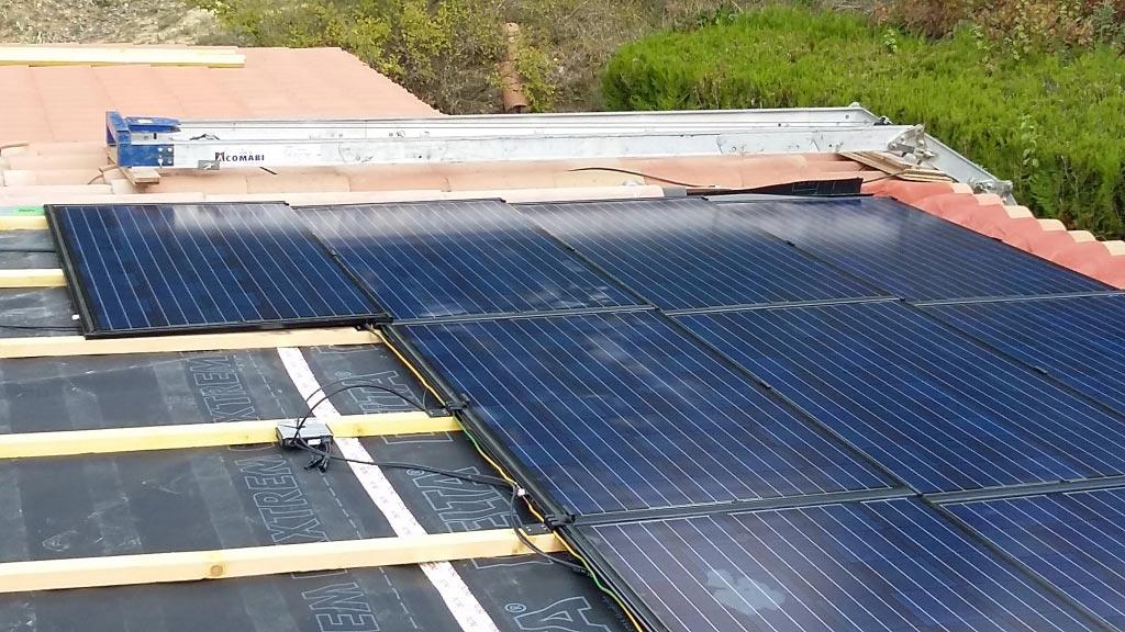 Electricité Solaire photovoltaïque Solrif à Pierrevert 04 Alpes de haute Provence - Région PACA-Alpes de Haute Provence (04)